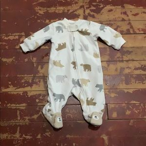 Newborn Fleece Pajama